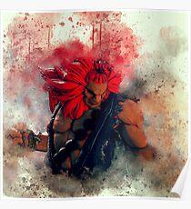 Akuma Street Fighter V Poster