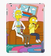 Yellow Rick Living Room iPad Case/Skin