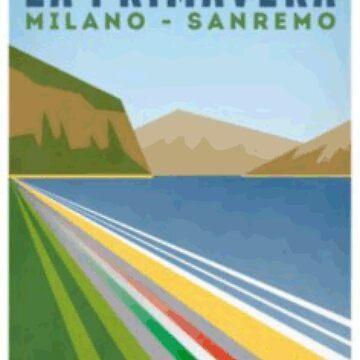 Milan San Remo - Retro Poster by zannox