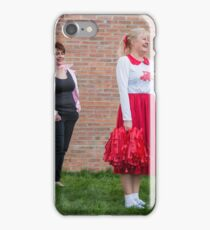 Hullywood Icons -  Anne Chatterton(Frenchie) Dianne Rees (Sandy) Zoe Allison (Rizzo) Claire Champlin (Jan), Beccy O'Sullivan (Marty). iPhone Case/Skin