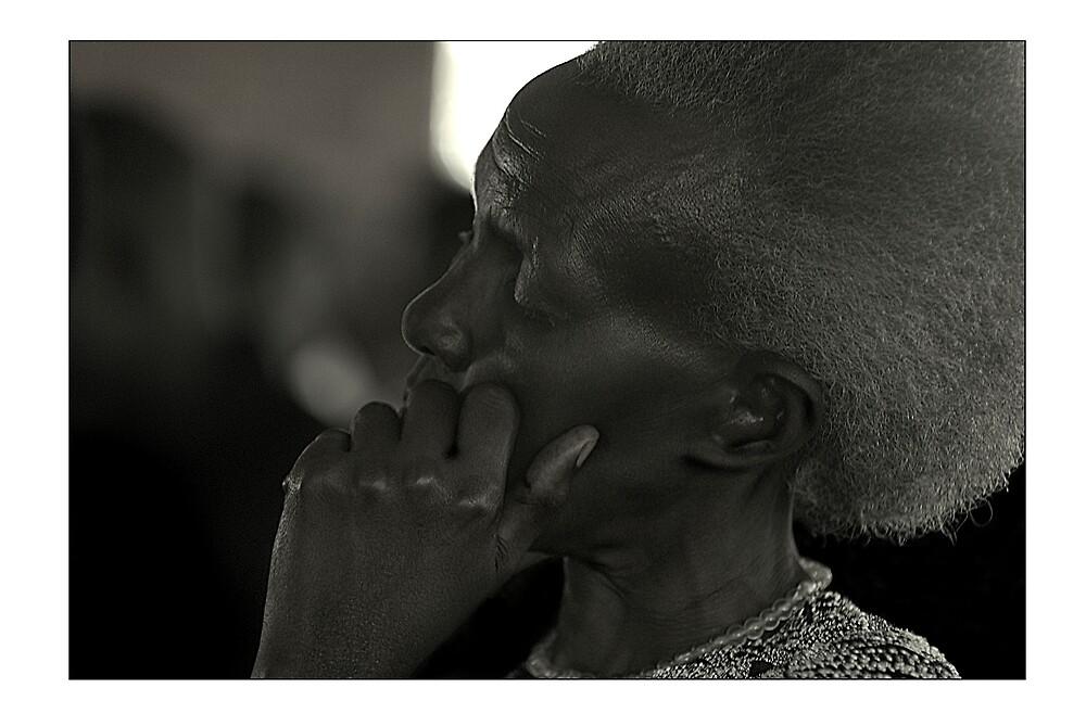 Portrait of a Rwandan Lady by Melinda Kerr