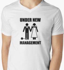 Just Married, Under New Management Men's V-Neck T-Shirt