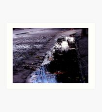 The street where she collapsed and dreamt Art Print