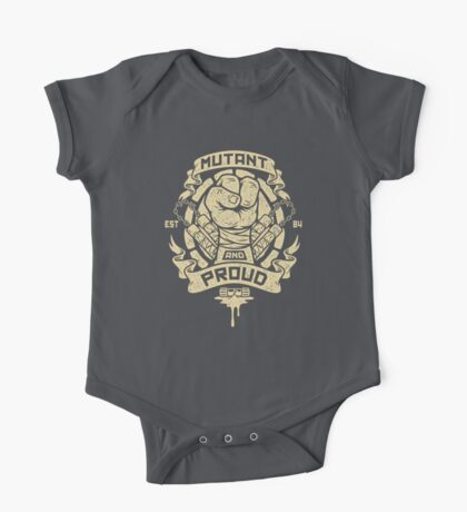 Mutant and Proud! (Mikey) Kids Clothes
