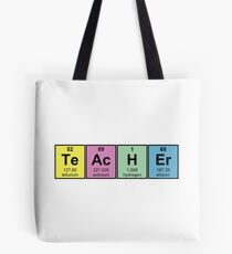 Science Teacher Chemical Elements Tote Bag