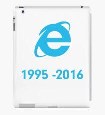Internet Explorer Rest in Peace iPad Case/Skin