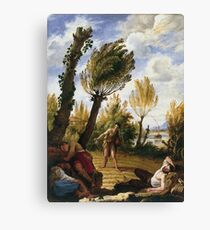 Domenico Fetti - The Parable Of The Weeds Canvas Print