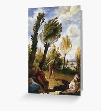 Domenico Fetti - The Parable Of The Weeds Greeting Card