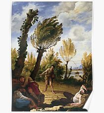 Domenico Fetti - The Parable Of The Weeds Poster