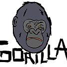 Gorilla head by Logan81