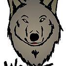 Wolf head by Logan81