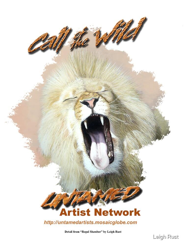 Call of the wild design 3: Regal Slumber by wildatart