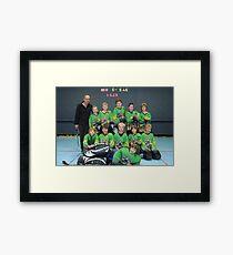 10 and Under team Winter 2007 season Framed Print