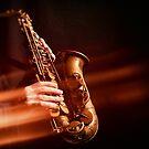 Saxophone fire by laurentlesax