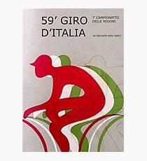 Retro Giro Poster Photographic Print