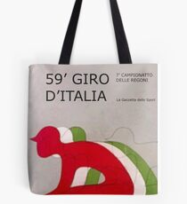 Retro Giro Poster Tote Bag