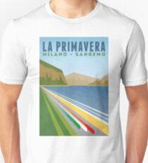 Milan San Remo - Retro Poster Unisex T-Shirt