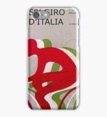 Retro Giro Poster iPhone Case/Skin