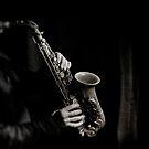 Saxophone en noir & blanc by laurentlesax