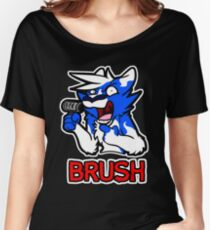 BRUSH Women's Relaxed Fit T-Shirt