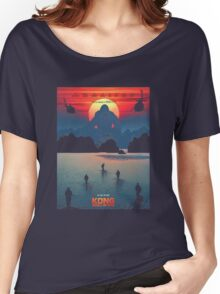 Kong Skull Island Movie Women's Relaxed Fit T-Shirt