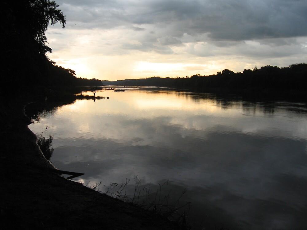 Cloudy Reflection by vikram kumar