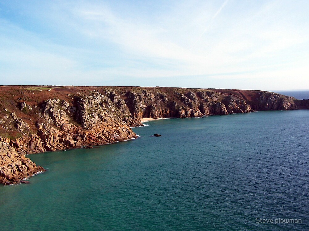 Cornish coast by Steve plowman