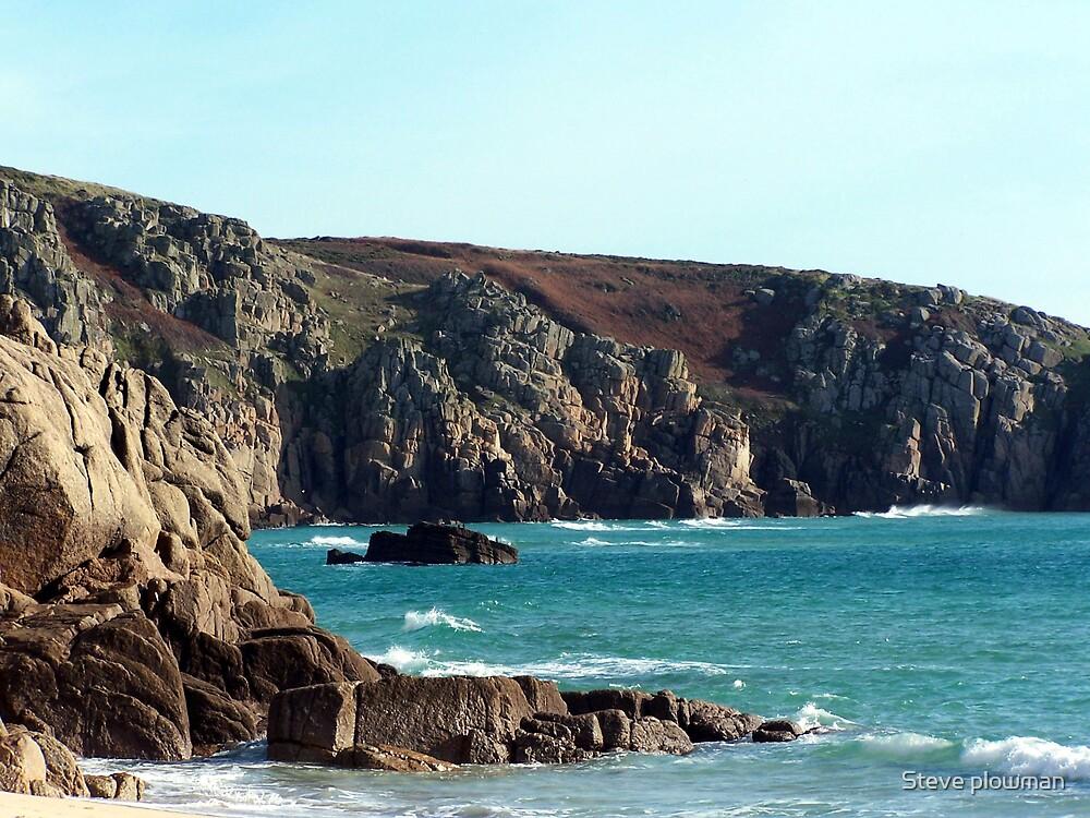 Rugged cliffs by Steve plowman