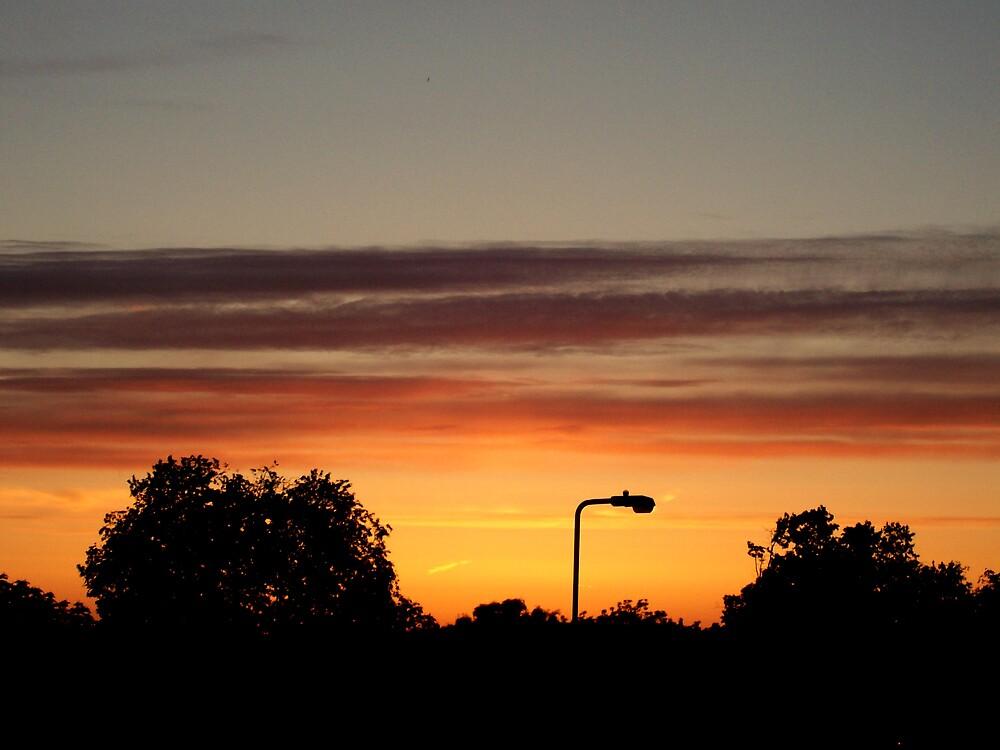 Post in sunset by Sam Everitt