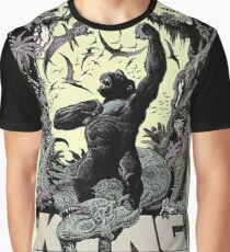 Kong King Of The Skull Island Graphic T-Shirt