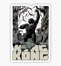 Kong King Of The Skull Island Sticker
