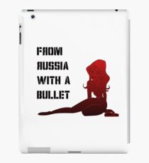 From Russia with a Bullet! iPad Case/Skin