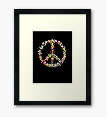 Peace birds! Framed Print