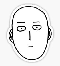 One-Punch Man - Saitama Sticker