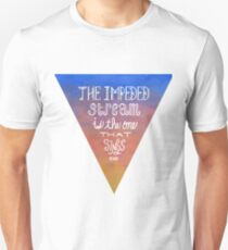 Impeded Stream Emerson Quote Unisex T-Shirt