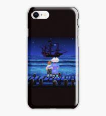 Guybrush Threepwood ship iPhone Case/Skin