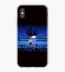 Guybrush Threepwood ship iPhone Case