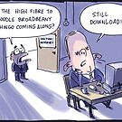 High fibre to the noodle by Jon Kudelka