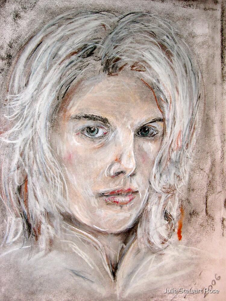 Self Portrait - Julie Stewart by Julie Stewart Rose