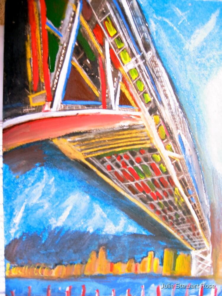 Sydney Harbour Bridge by Julie Stewart