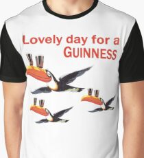 GUINNESS TOUCAN FLY LOGO Graphic T-Shirt