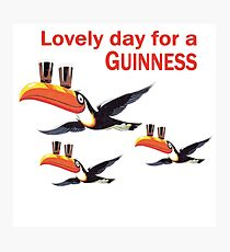 GUINNESS TOUCAN FLY LOGO Photographic Print