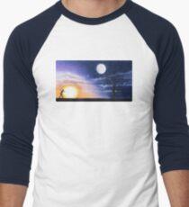 Running in Circles Baseball ¾ Sleeve T-Shirt