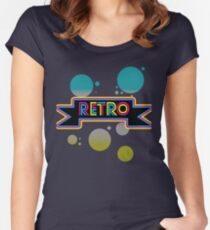 Retro! Women's Fitted Scoop T-Shirt