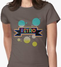 Retro! Womens Fitted T-Shirt