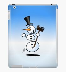 Dancing snowman iPad Case/Skin
