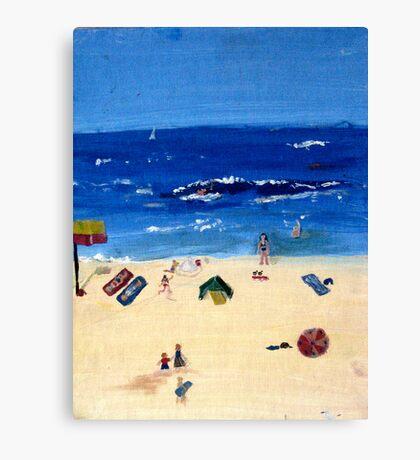 Coogee Beach Canvas Print
