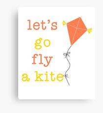 Kite Day Canvas Print