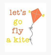 Kite Day Photographic Print