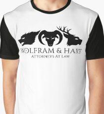 Wolfram & Hart Graphic T-Shirt